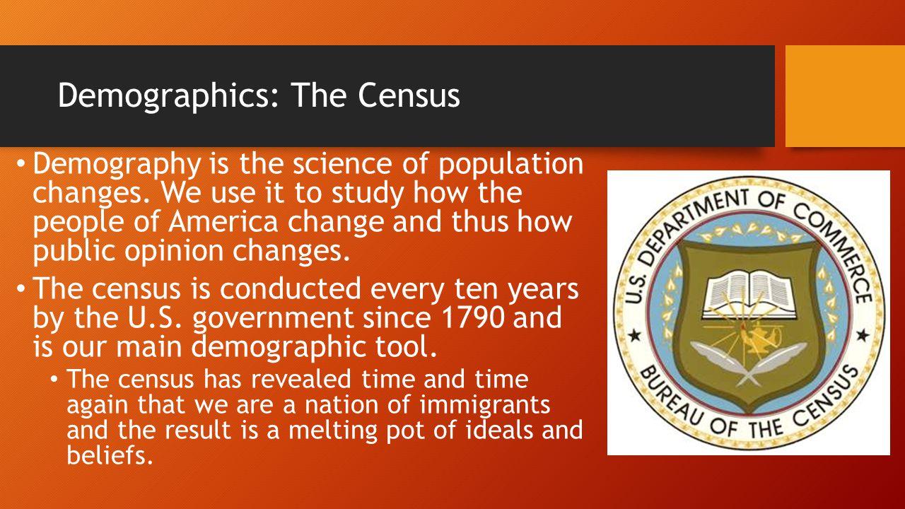Demographics: Current Population Statistics