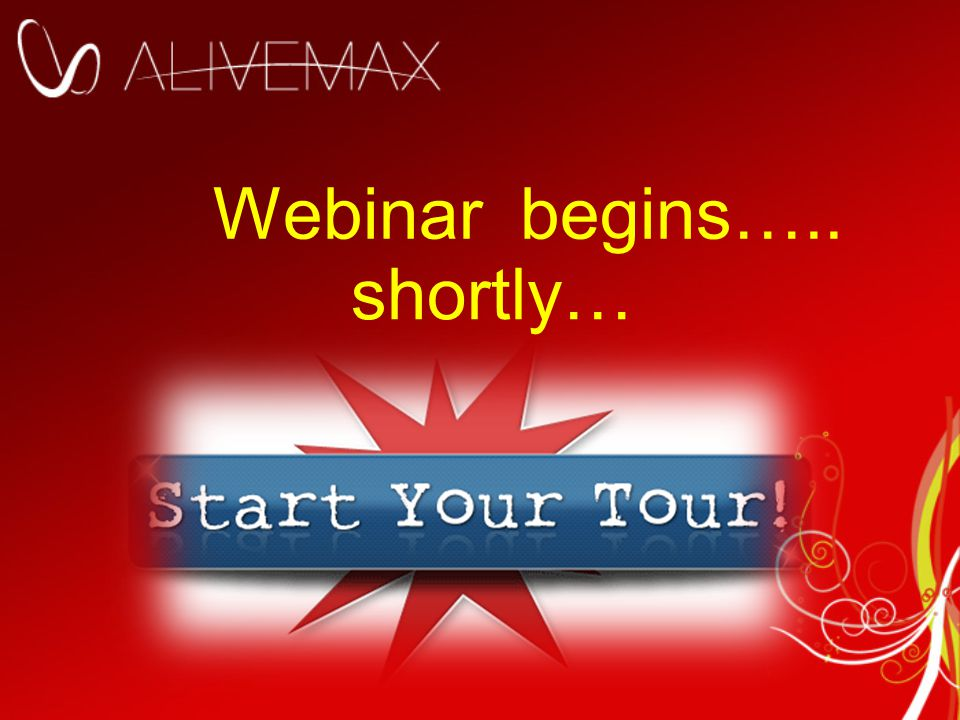 Webinar begins….. shortly…