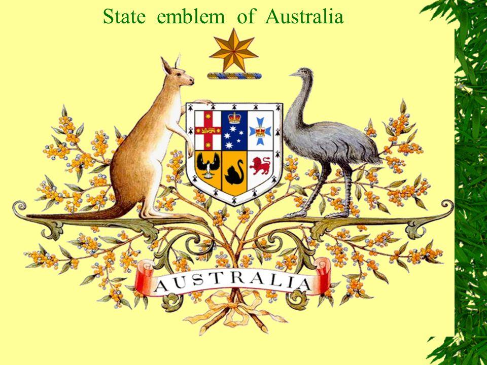 State emblem of Australia
