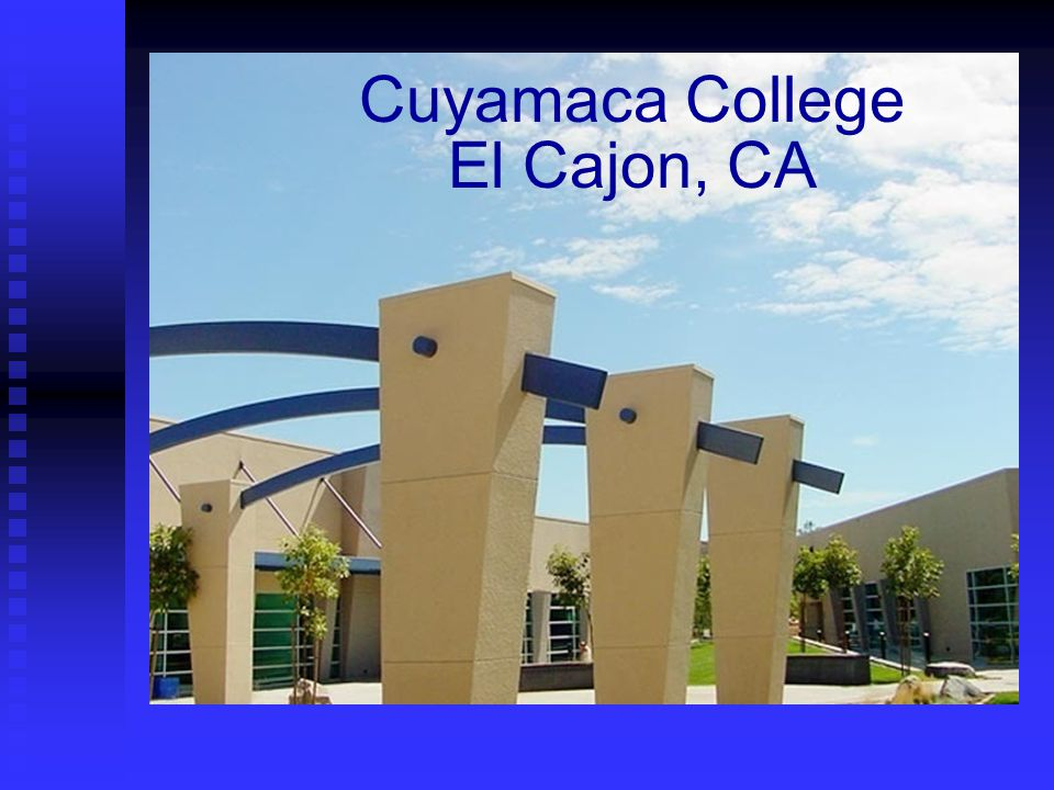 Cuyamaca College El Cajon, CA
