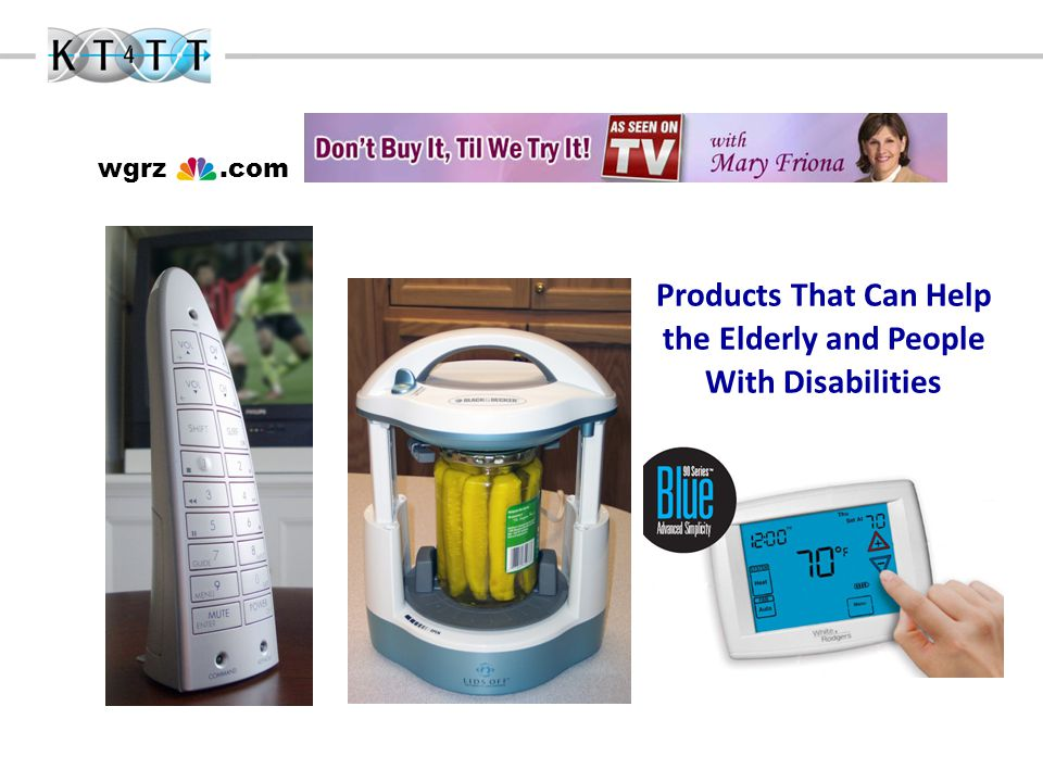 wgrz.com Products That Can Help the Elderly and People With Disabilities