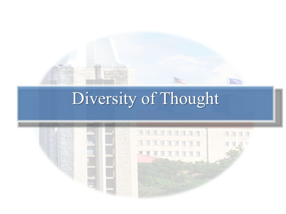 Diversity of Thought