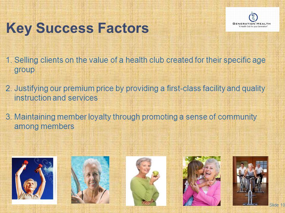 Key Success Factors 1.