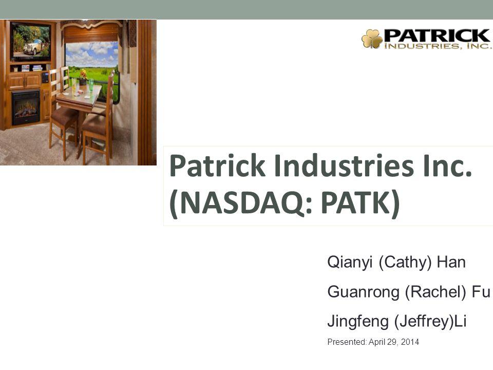 Patrick Industries Inc.