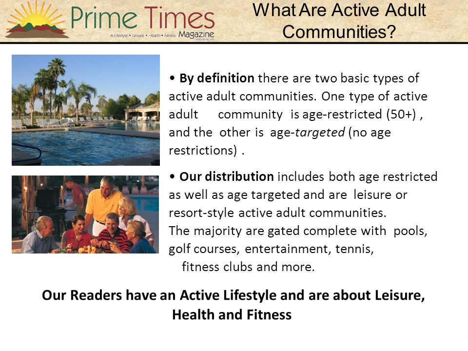 What Are Active Adult Communities.