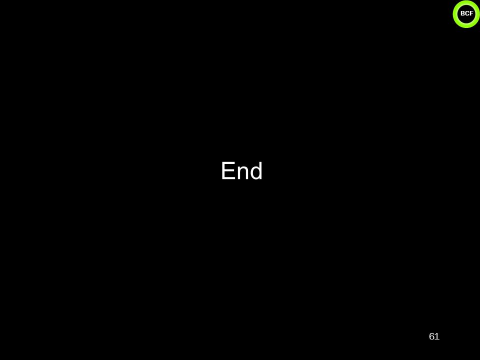 BCF End 61