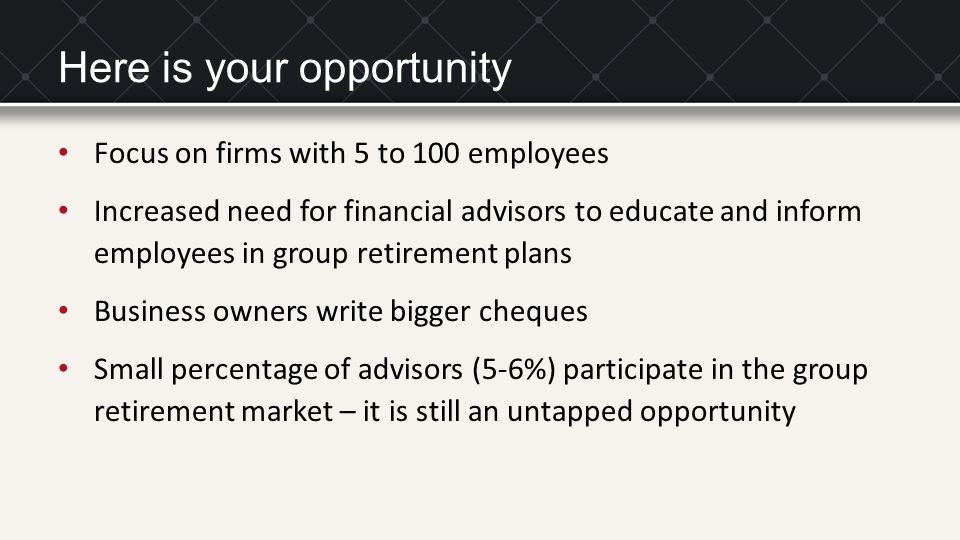 The value of financial advice Advice has a positive and significant impact on wealth accumulation.