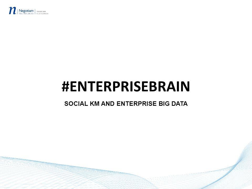 #ENTERPRISEBRAIN SOCIAL KM AND ENTERPRISE BIG DATA