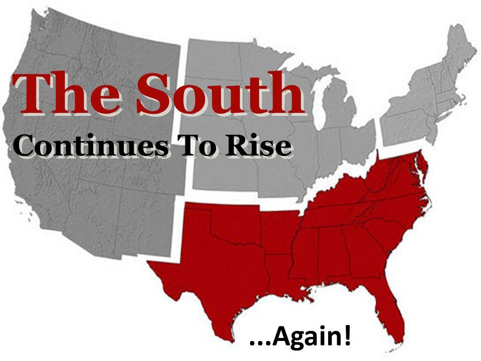 NON-WHITE AND HISPANIC SHARES OF POPULATION GROWTH, 2000-2010 Area Absolute Population Change Non-White Share Hispanic Share US27,323,63291.755.5 South14,318,92479.646.4 Texas4,293,74189.265.0 Florida2,818,93284.954.7 Georgia1,501,20681.027.9 NC1,486,17061.228.3 Alabama332,63676.433.0