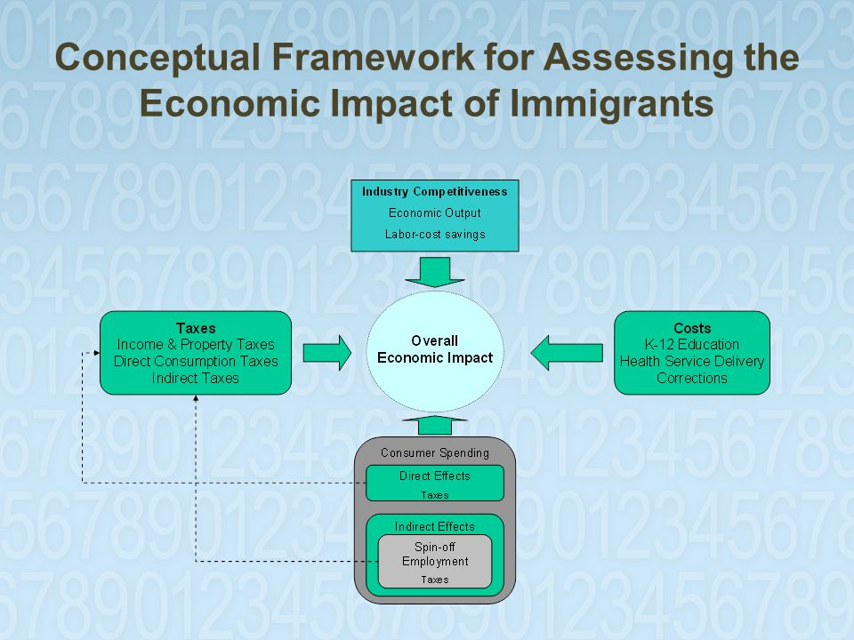 Conceptual Framework for Assessing the Economic Impact of Immigrants
