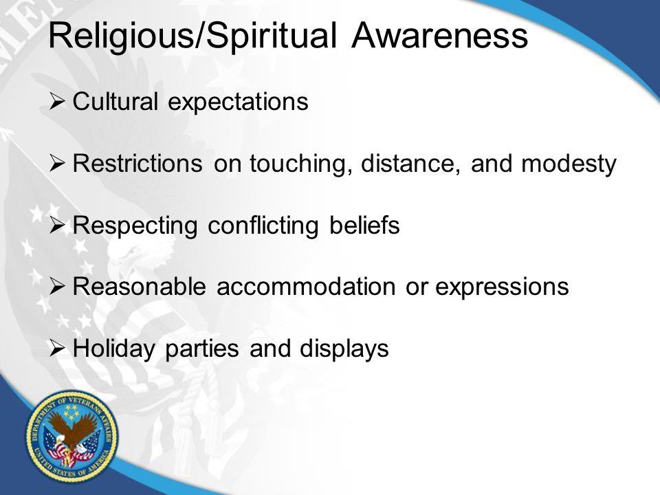 RELIGIOUS AND SPIRITUAL BELIEFS