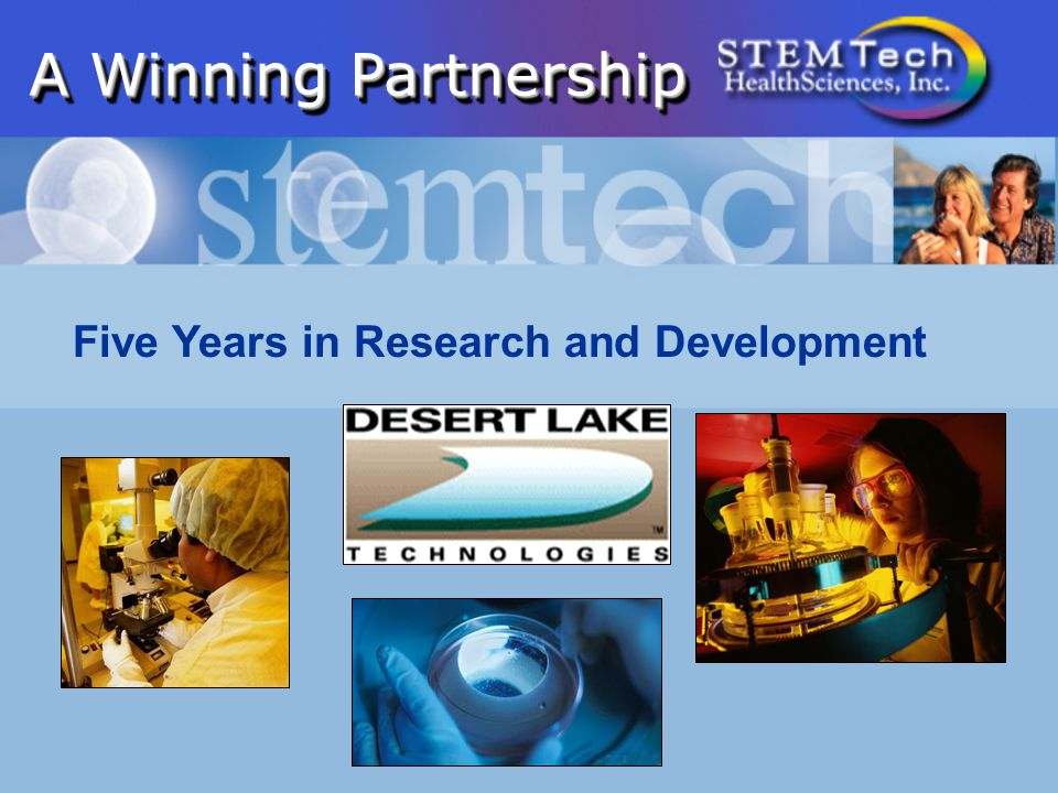 A Winning Partnership Five Years in Research and Development