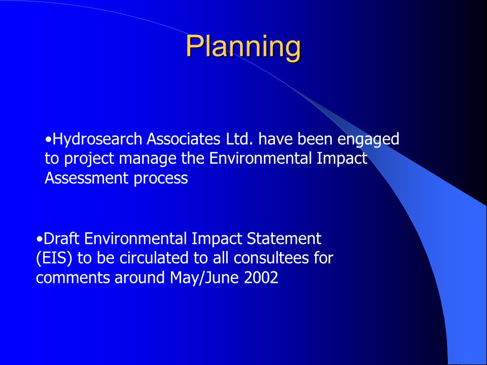 Planning Hydrosearch Associates Ltd.