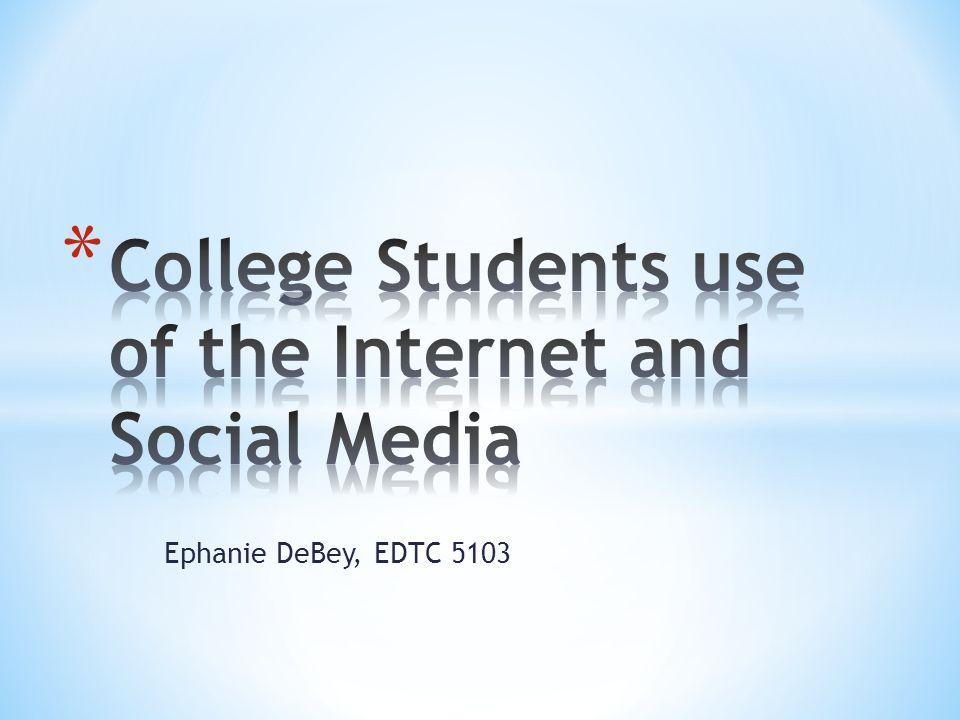 Ephanie DeBey, EDTC 5103