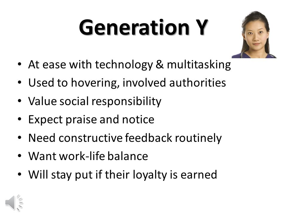 Employees from the various generations feel like they cannot relate to those from other generations, because they have nothing in common.