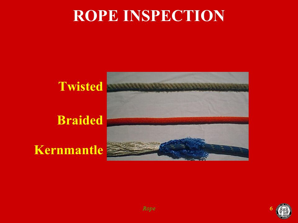 Rope27 SECURING OBJECTS with Rope Butt of a Ladder
