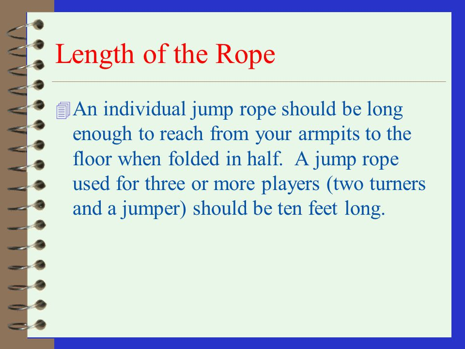 HELP 4 H - E - L - P (one jump for each letter) (The ropes spin faster and faster until the jumper misses on a letter.