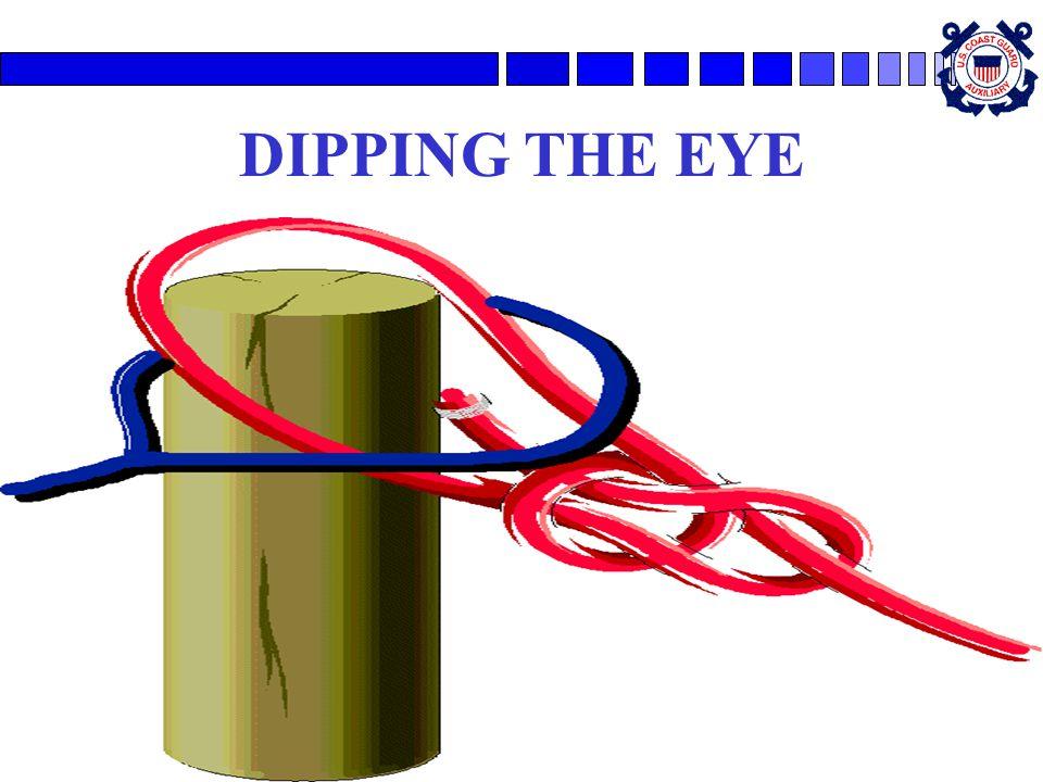 DIPPING THE EYE