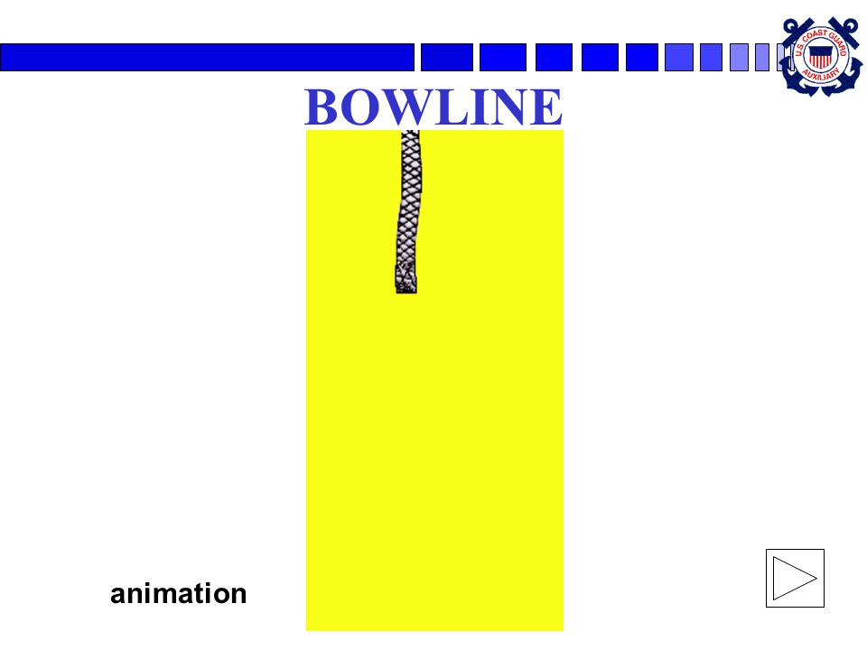 BOWLINE animation