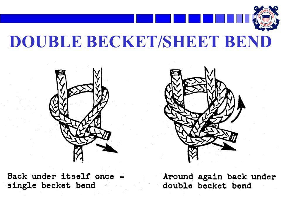DOUBLE BECKET/SHEET BEND