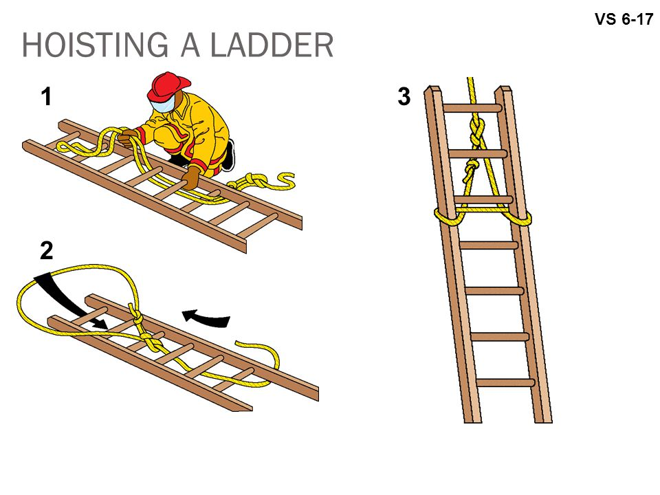 HOISTING A LADDER VS 6-17 13 2