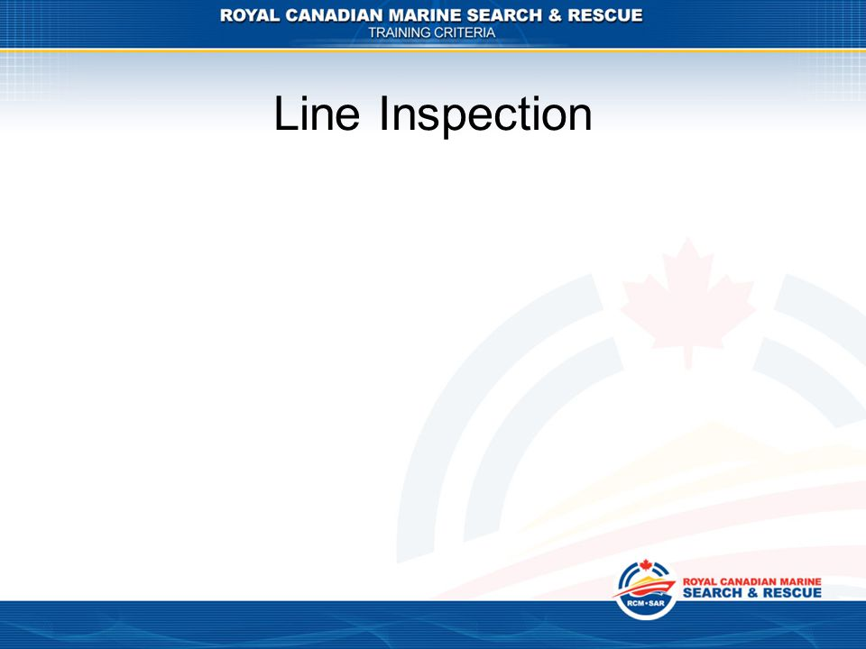 Line Inspection