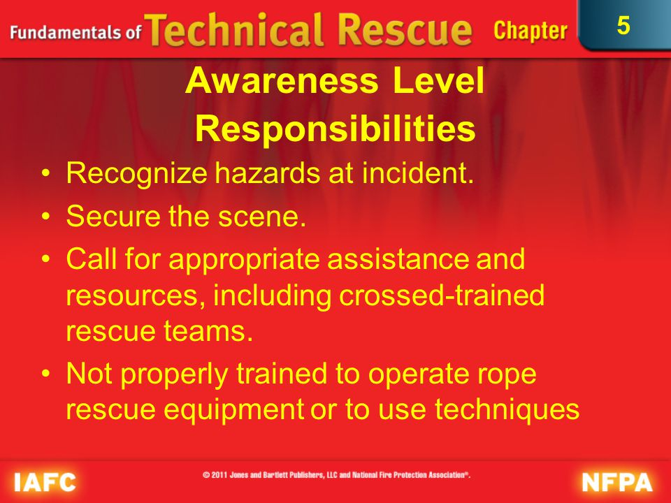 5 EMS Resources Required for patient hand off by rescue team for treatment and transport to medical facilities High-angle rope rescue victims may be suffering from traumatic injuries, other medical emergencies..