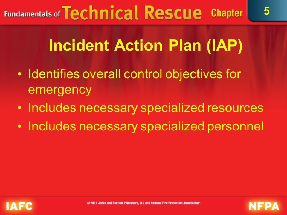5 Response Planning Responders must know how to initiate emergency response system to ensure appropriate resources are deployed and operational guidelines initiated correctly.