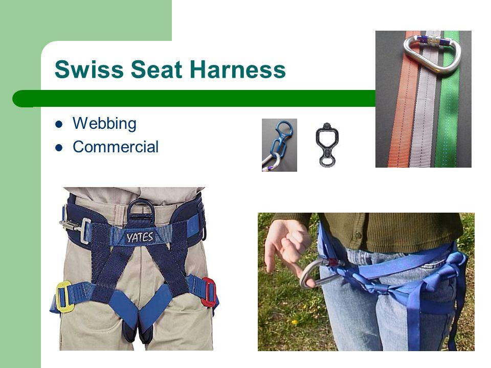 Swiss Seat Harness Webbing Commercial