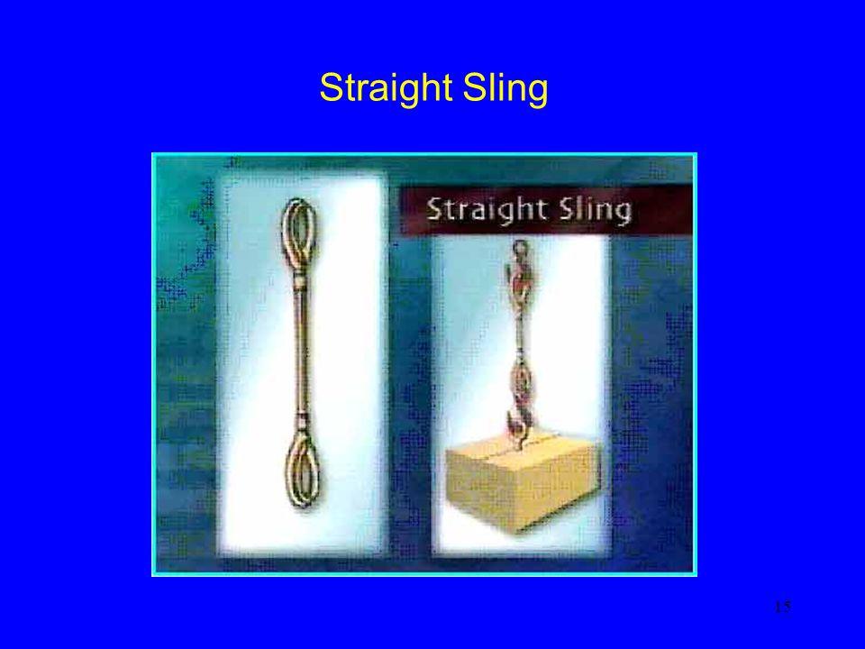 15 Straight Sling