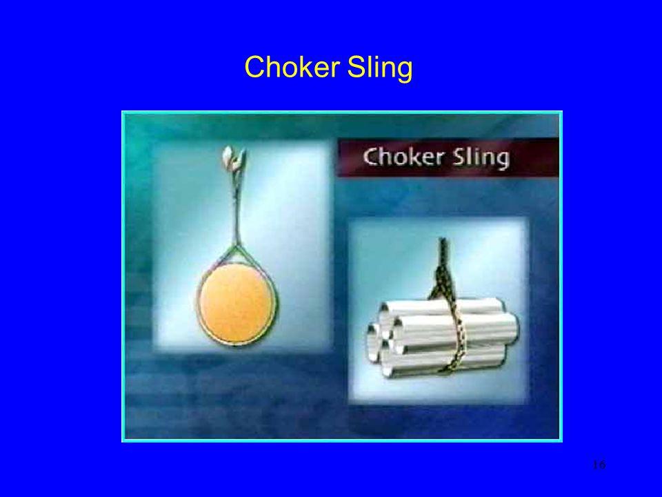 16 Choker Sling