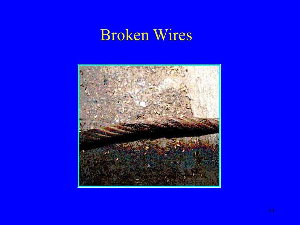 34 Broken Wires