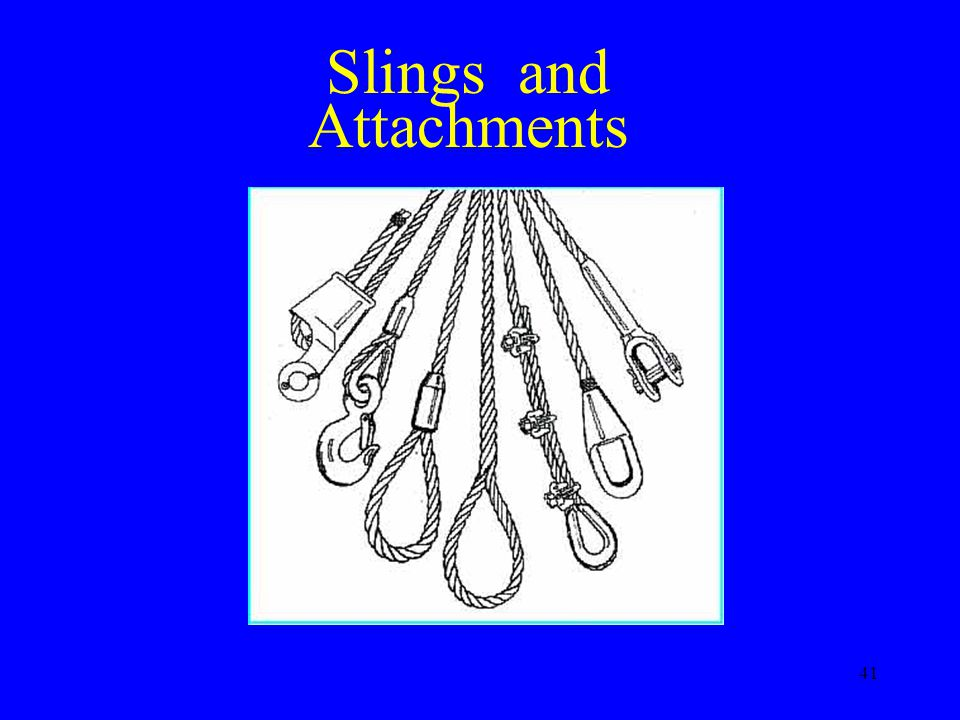 41 Slings and Attachments