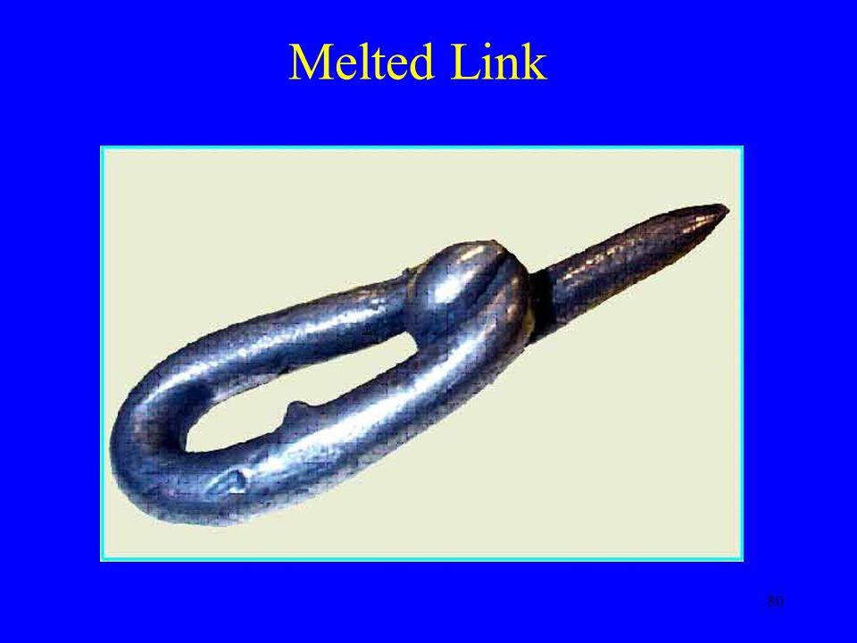 80 Melted Link