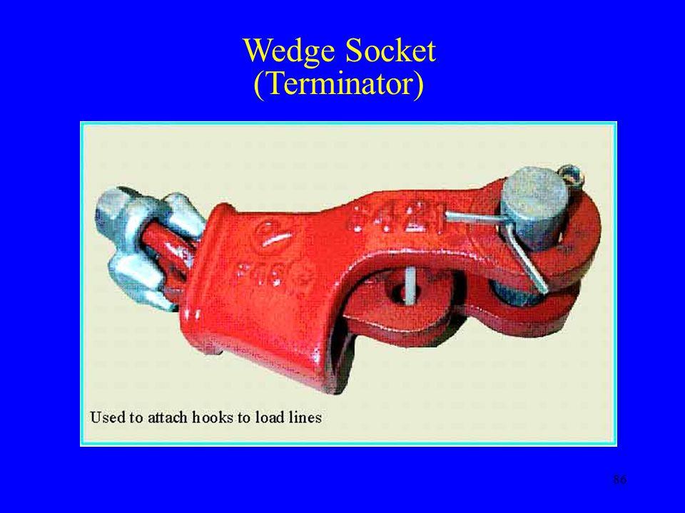 86 Wedge Socket (Terminator)