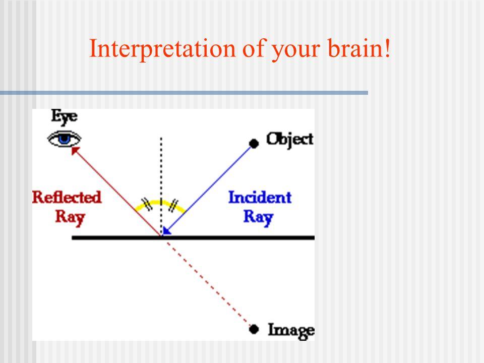 Interpretation of your brain!