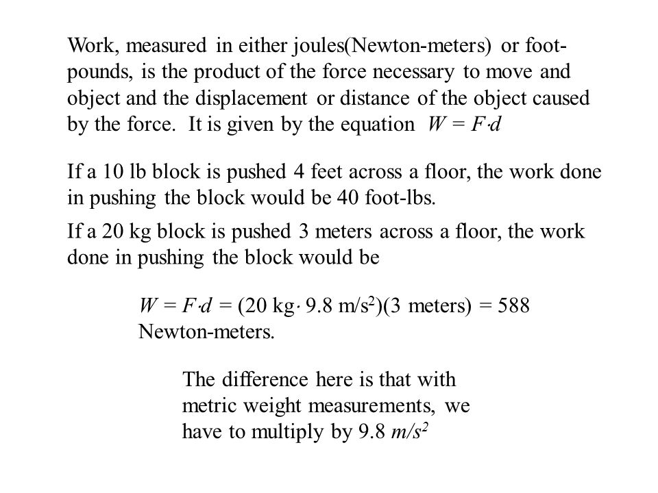 Suppose that the force required to move an object x meters across the floor decreases as the object gains speed so that the force can be given by the function F(x) =Ce  0.43x.