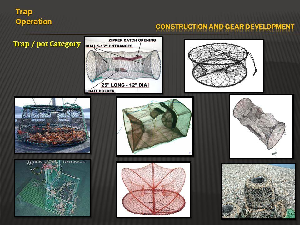 Trap / pot Category TrapOperation