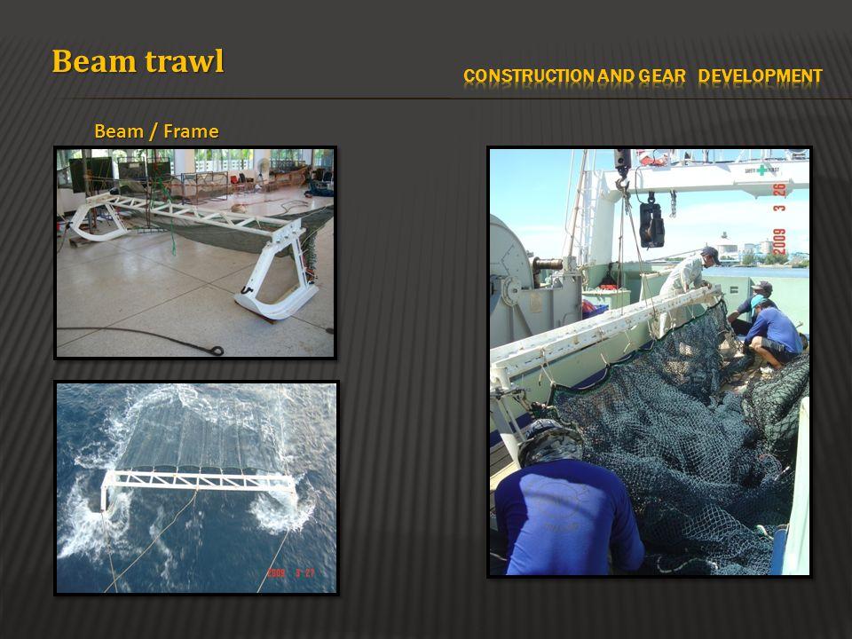 Beam / Frame Beam trawl