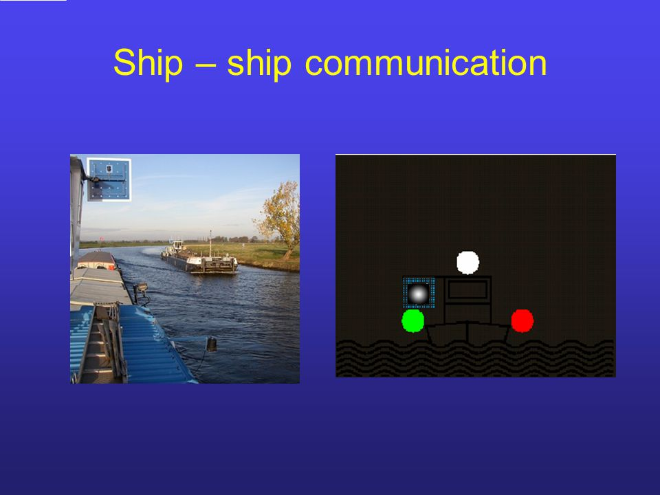 Ship – ship communication
