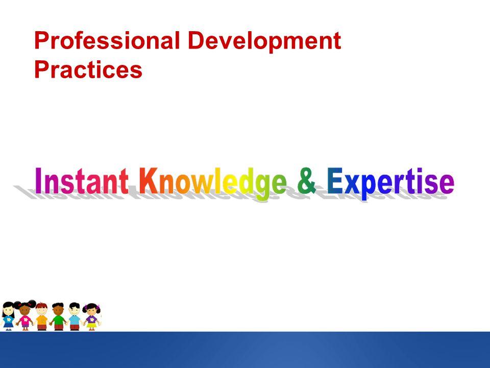 Professional Development Practices