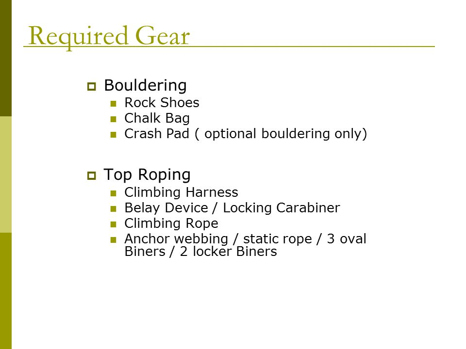 ..has attached the rope, belay device and carabiner clip in the correct place.