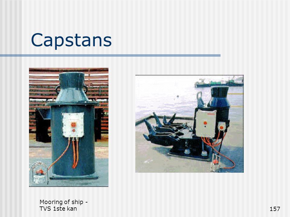 Mooring of ship - TVS 1ste kan157 Capstans