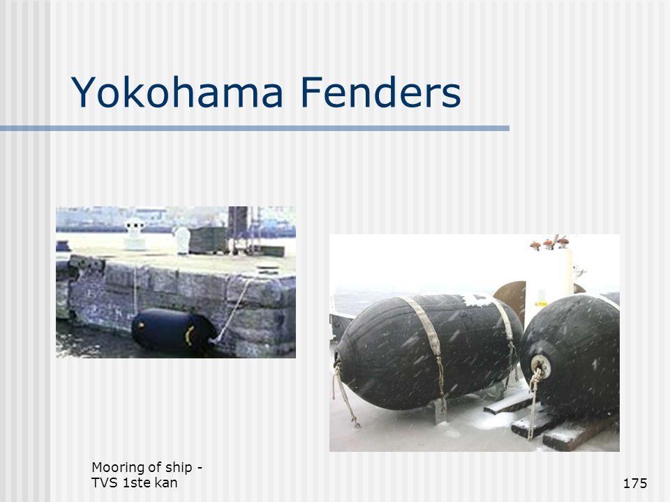 Mooring of ship - TVS 1ste kan175 Yokohama Fenders