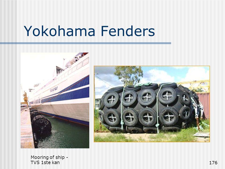 Mooring of ship - TVS 1ste kan176 Yokohama Fenders