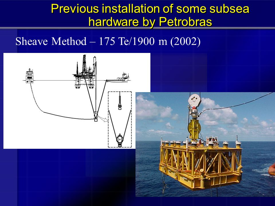  Three distinct phases: equipment at the side of transportation vessel pendulous motion equipment supported by installation vessel Some results of numerical analysis