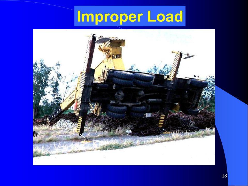17 Improper Load