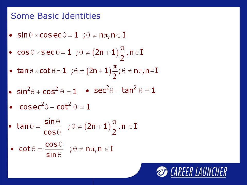Some Basic Identities