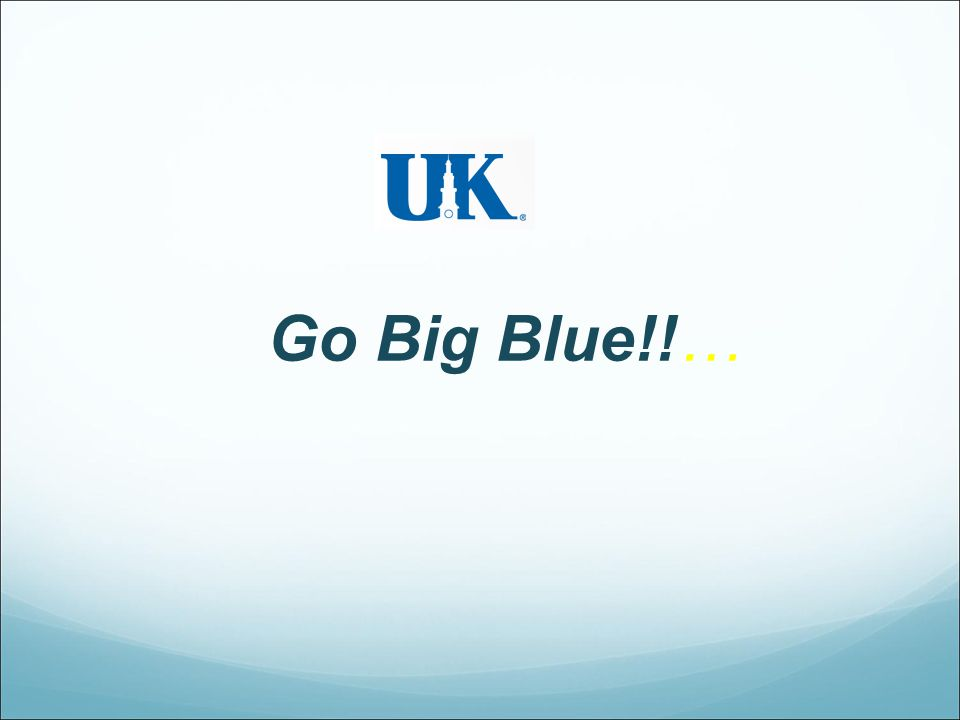 Go Big Blue!!…