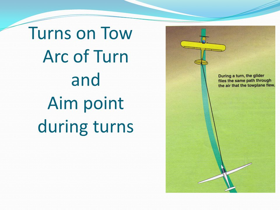 Turns on Tow Arc of Turn and Aim point during turns